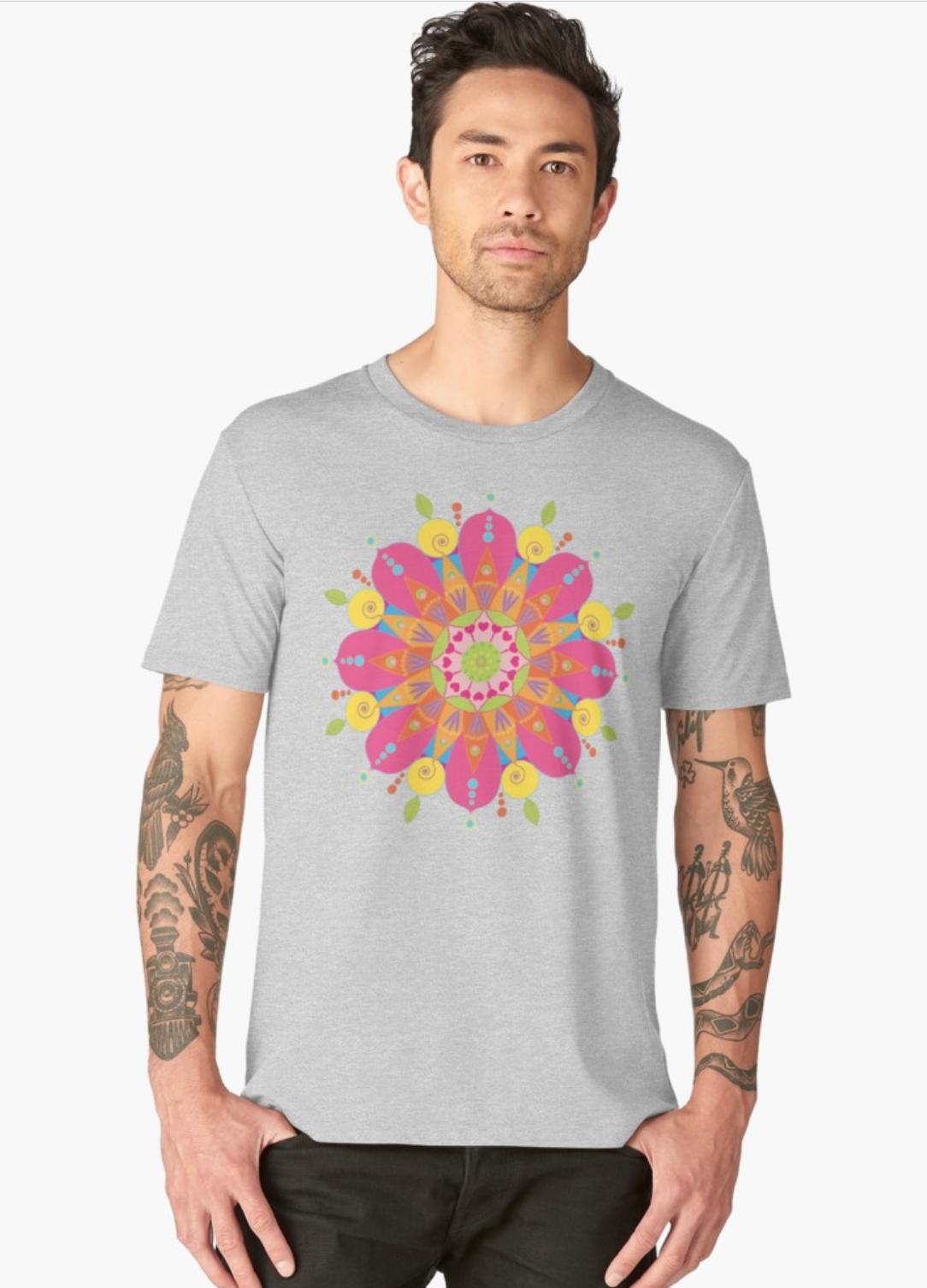 T-shirt homme chez RedBubble