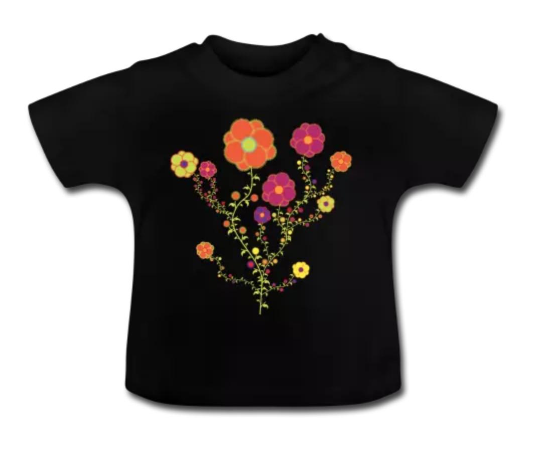 T-shirt bébé 100% coton bio chez Spreadshirt